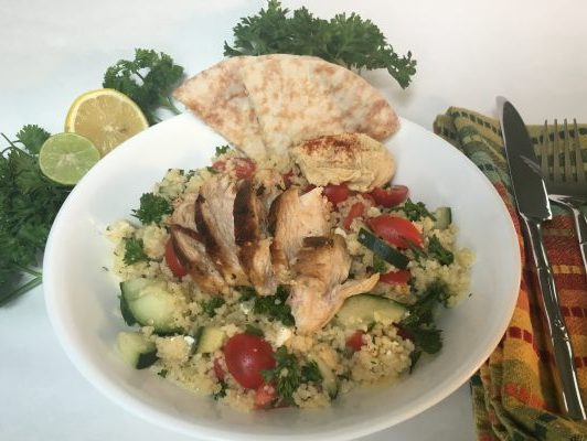 Mediterranean Tabouli and Chicken