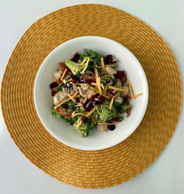 Broccoli Bacon Salad with Chicken