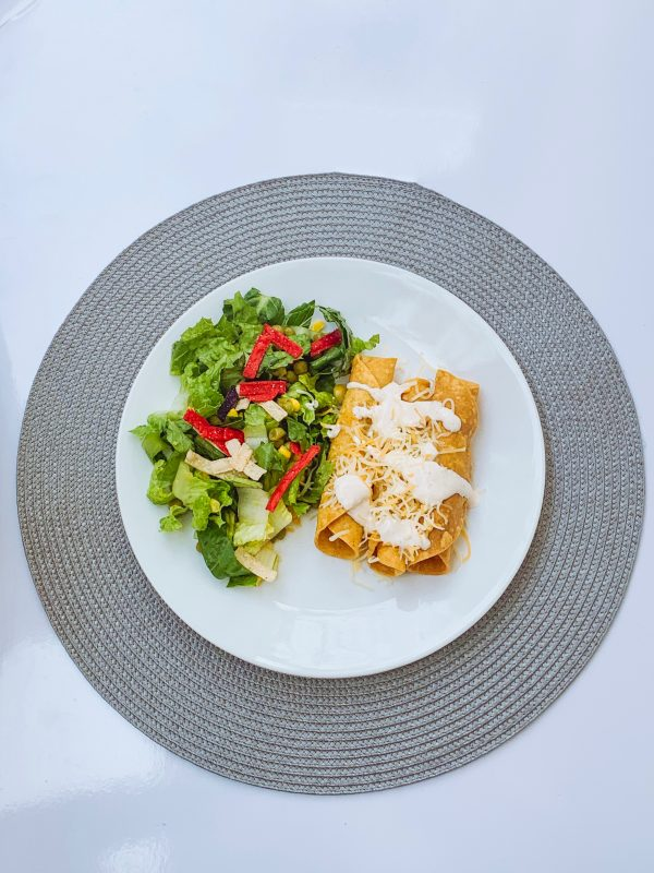 Rolled Chicken Taquitos
