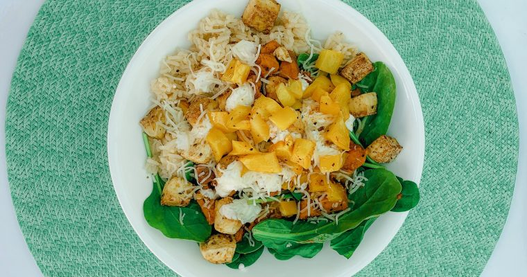 Tofu Salad Bowl
